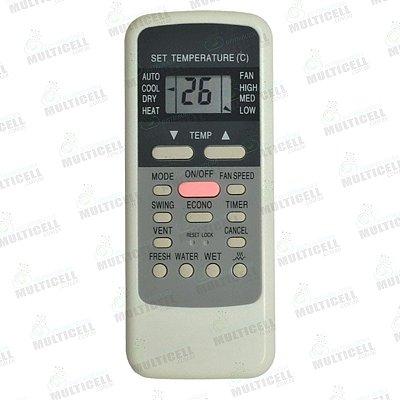 CONTROLE DE AR CONDICIONADO MIDEA R51C FBG-9020