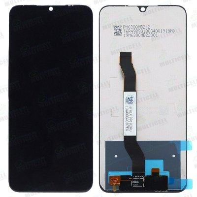 "GABINETE FRONTAL DISPLAY LCD MODULO COMPLETO XIAOMI REDMI NOTE 8 6.3"" PRETO 1ªLINHA QUALIDADE AAA"