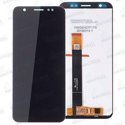 GABINETE FRONTAL DISPLAY LCD MODULO COMPLETO ASUS ZA550KL X00RD ZENFONE LIVE L1 1ªLINHA QUALIDADE AAA