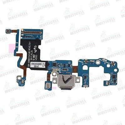 FLEX CONECTOR DOCK DE CARGA SENSOR TEC SAMSUNG G960F GALAXY S9 ORIGINAL