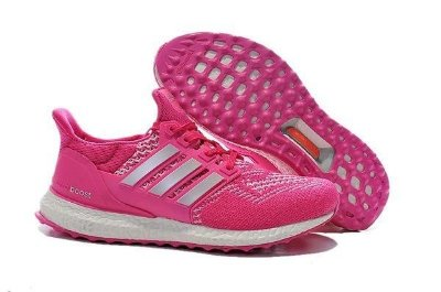 Tênis Adidas Ultra Boost - Feminino - Cinza/Rosa