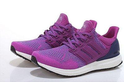 Tênis Adidas Ultra Boost - Feminino - Roxo