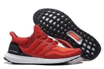 Tênis Adidas Ultra Boost - Feminino - Vermelho Escuro
