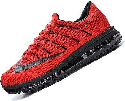 Tênis Nike Air Max 2016 - Masculino - Vermelho
