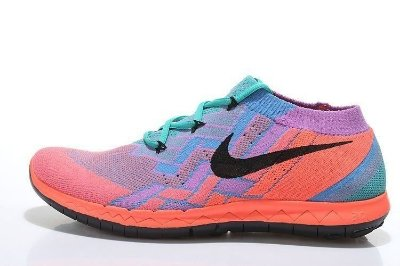 Tênis Nike FREE 3.0 Flyknit - Feminino - Rosa