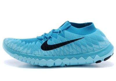 Tênis Nike FREE 3.0. Flyknit - Masculino - Azul Claro