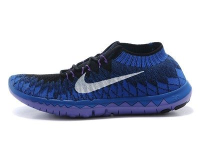 Tênis Nike FREE 3.0. Flyknit - Masculino - Azul Royal