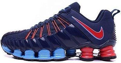 Tênis Nike Total Shox 2016 - Masculino - Azul/Vermelho