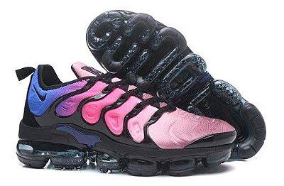 Tênis Nike Air Vapormax Plus - Rosa e Azul