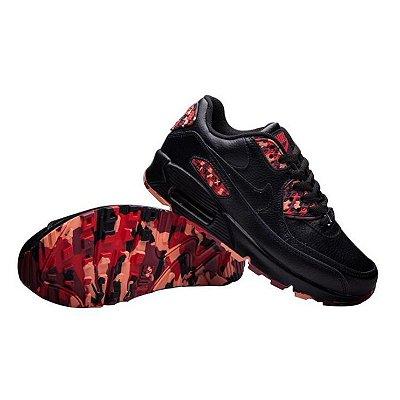 Tênis Nike Air Max 90 - Preto e Rosa