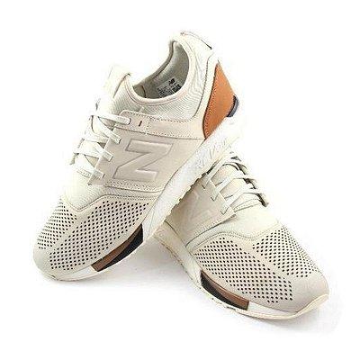 Tênis New Balance 247 - Marrom e Branco