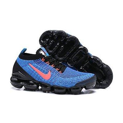 Tênis Nike Air Max Vapormax 3  - Azul e Vermelho