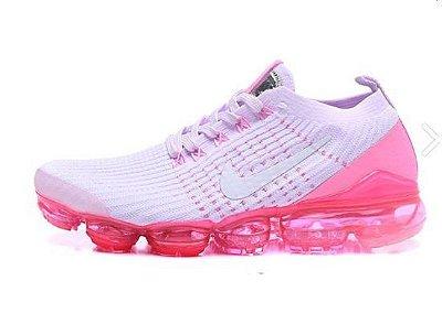 Tênis Nike Air Max Vapormax 3 - Branco e Rosa