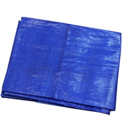 Lona Carreteiro Polietileno Azul Reforçada - 4x3M Beltools