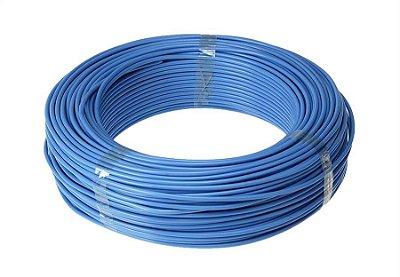 Cabo Flexível 4mm 100 Metros - Azul