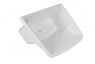 Tanque Plástico 24 Litros Branco 30x60x50