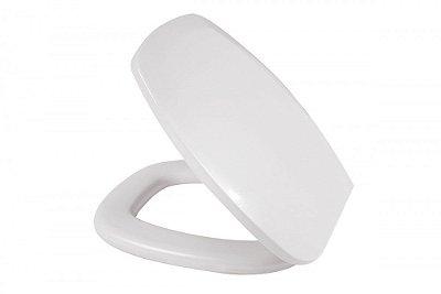 Assento Sanitário Almofadado Thema Incepa Branco - Metasul