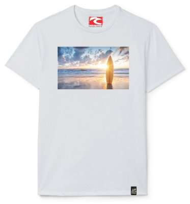 Camiseta Santo Swell On The Beach Estampada Manga Curta 5 Cores