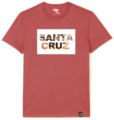 Camiseta Santo Swell California Original City Estampada Manga Curta 3 Cores
