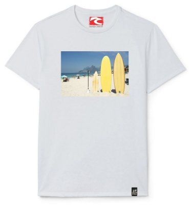 Camiseta Santo Swell Writing on Board Estampada Manga Curta 4 Cores