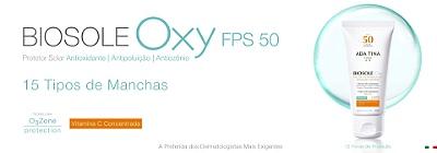 BIOSOLE OXY FPS 50 - Protetor Solar Clareador com Vitamina C e Niacinamida - 40ml