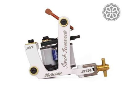 Máquina para Tatuagem - Percy Waters Híbrida - White