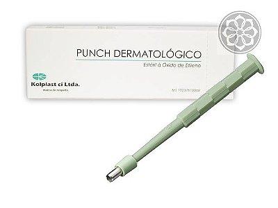 Punch Para Aplicação de Microdermal - 2 mm - Descartável - Kolplast