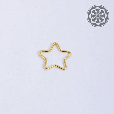 Piercing Estrela para Cartilagem - Folheado a Ouro