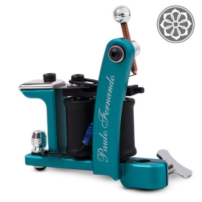 Máquina para Tatuagem - Bulldog Shader Alumínio - Azul Electric