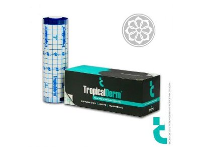 TropicalDerm Pro Rolo - Filme protetor para tatuagem