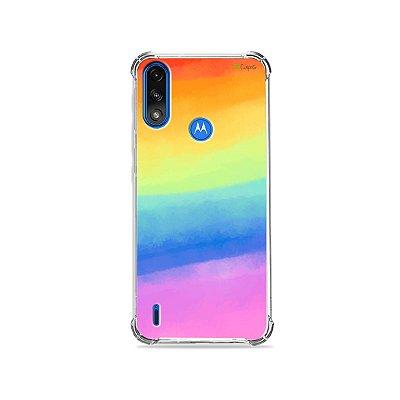 Capa para Moto E7 Power - Rainbow