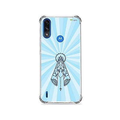 Capa para Moto E7 Power - Nossa Senhora