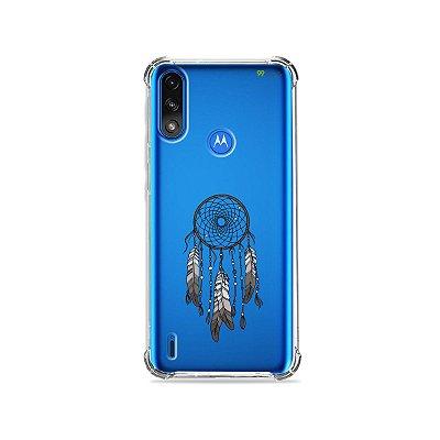 Capa (Transparente) para Moto E7 Power - Filtro dos Sonhos