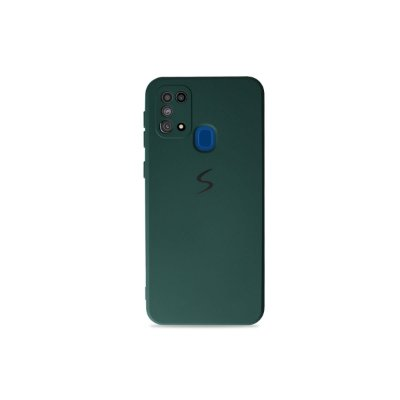 Silicone Case Verde Cacto para Galaxy M31
