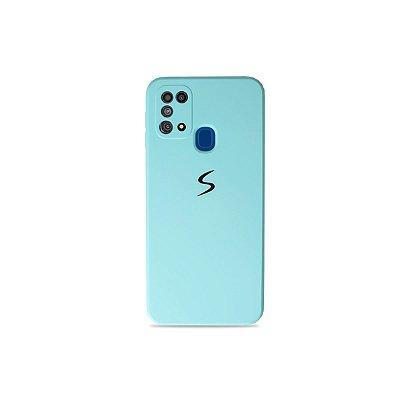 Silicone Case Azul Claro para Galaxy M31