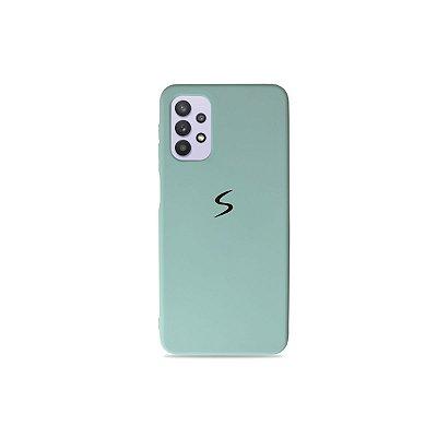 Silicone Case Verde Água para Galaxy A32 5G
