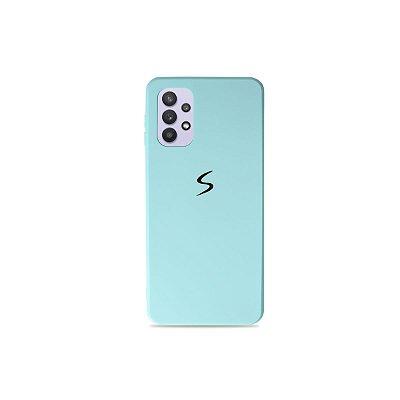 Silicone Case Azul Claro para Galaxy A32 5G