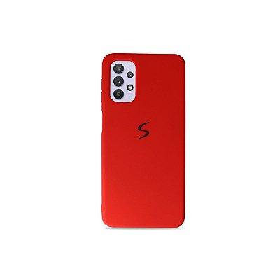 Silicone Case Vermelha para Galaxy A32 5G