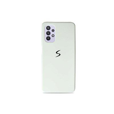 Silicone Case Branca para Galaxy A32 5G