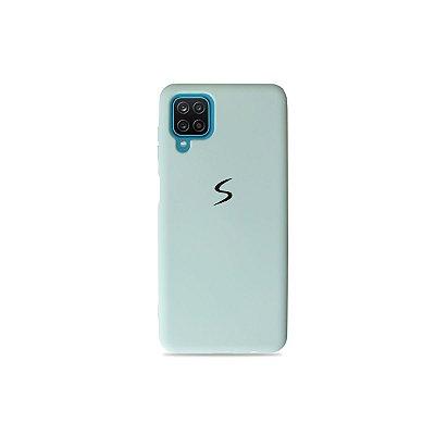Silicone Case Azul Claro para Galaxy A12