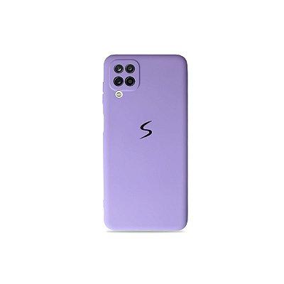 Silicone Case Lilás para Galaxy A12