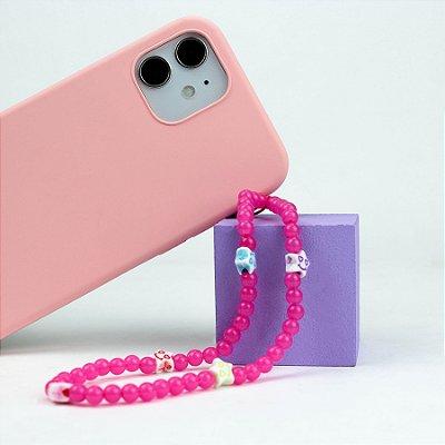 Alça para Celular (Pingente para Celular) Pink - 99Capas