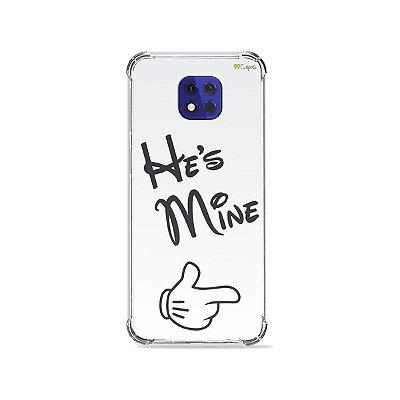 Capa para Moto G10 Play - He's Mine
