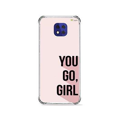 Capa para Moto G10 Play - You Go, Girl