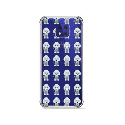 Capa (Transparente) para Moto G10 Play - Poodle