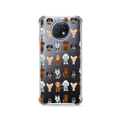 Capa (Transparente) para Xiaomi Redmi Note 9T - Doguinhos