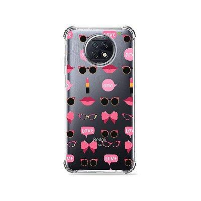 Capa (Transparente) para Xiaomi Redmi Note 9T - Girls
