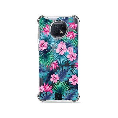Capa (Transparente) para Xiaomi Redmi Note 9T - Tropical