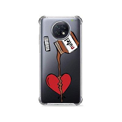 Capa (Transparente) para Xiaomi Redmi Note 9T - Nutella