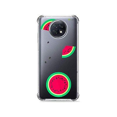 Capa (Transparente) para Xiaomi Redmi Note 9T - Melancias